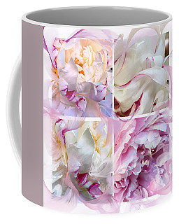 Four Peonies  Coffee Mug