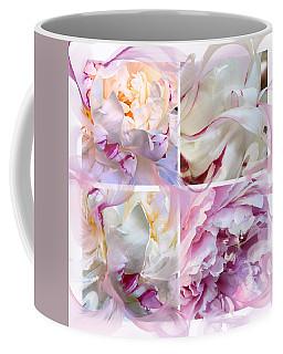 Four Peonies  Coffee Mug
