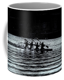Four Rowers Coffee Mug