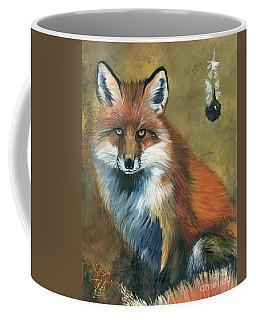 Fox Shows The Way Coffee Mug