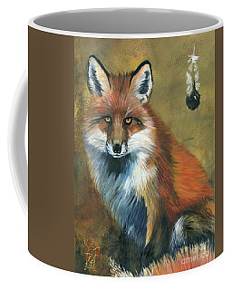 Fox Shows The Way Coffee Mug