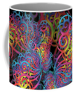 Fractal Illusion Coffee Mug