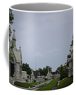Framed In The Cemetery Coffee Mug