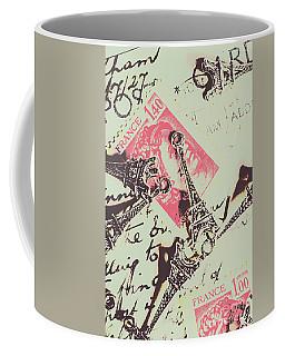 Francs Script Coffee Mug