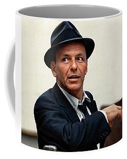 Frank Sinatra At Capitol Records, 1953 Coffee Mug