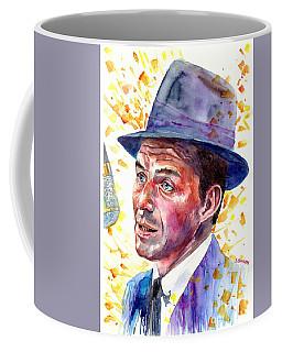 Frank Sinatra Singing Coffee Mug