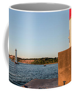 Frankfort North Breakwater Lighthouse And Light Station Coffee Mug