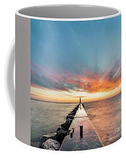 Frankfort Sunset 1x1 Coffee Mug