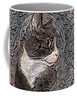 Franklyn The Tuxedo Cat Coffee Mug
