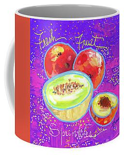 Fresh Fruit And Sprinkles  Coffee Mug