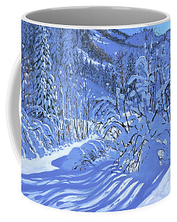 Fresh Snow, Les Arcs, France Coffee Mug