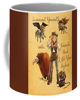 Friends That Lift Coffee Mug
