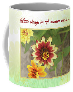 Friendship, A Smiling Indian Blanket Flower  Coffee Mug