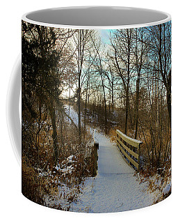 Frigid Landscape Coffee Mug