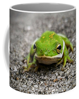Coffee Mug featuring the photograph Frogger by Vincent Autenrieb