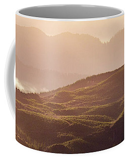 Coffee Mug featuring the photograph From Neahkahnie by Whitney Goodey