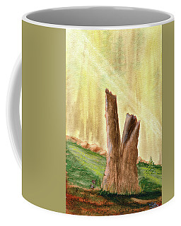 From Ruins Comes New Life Coffee Mug