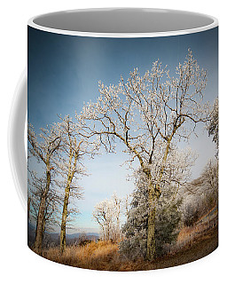 Frost On The Mountain Coffee Mug