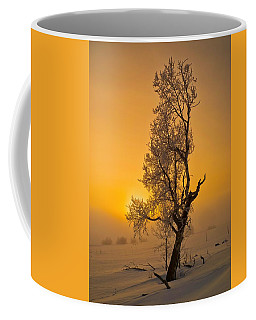 Frosted Tree Coffee Mug