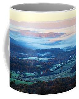 Frosty Autumn Coffee Mug