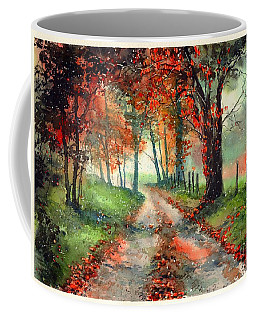 Frosty Autumn Patch Coffee Mug