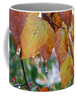 Icy Foliage Coffee Mug
