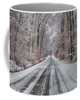 Frozen Road Coffee Mug