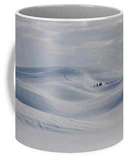Frozen Winter Hills Coffee Mug