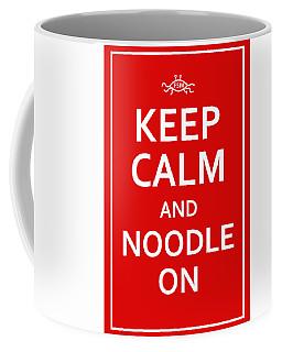Fsm - Keep Calm And Noodle On Coffee Mug