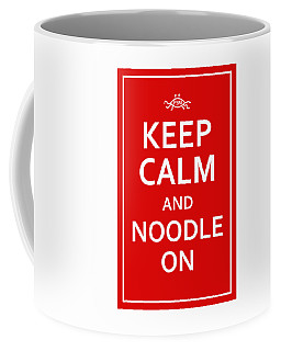 Fsm - Keep Calm And Noodle On Coffee Mug