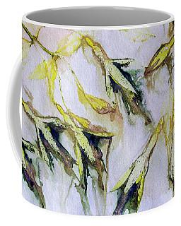 Fuchsia Eco Printed Magic Coffee Mug