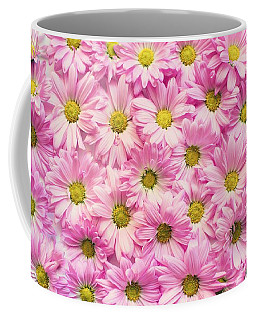 Full Of Pink Flowers Coffee Mug