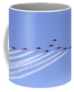 Full Squadron Salute Coffee Mug