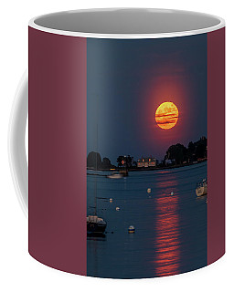 Full Strawberry Moon Rise Coffee Mug