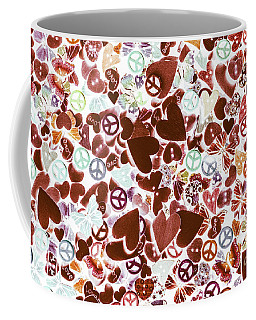 Funky Flower-power Coffee Mug