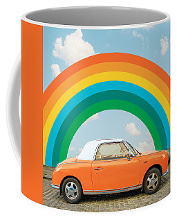 Funky Rainbow Ride Coffee Mug