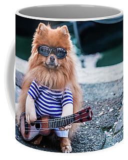 Funny Dog At The Carnival In Venice Coffee Mug