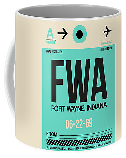 Fwa Fort Wayne Luggage Tag I Coffee Mug