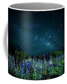 Galactic Bluebonnets Coffee Mug
