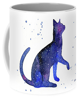 Galaxy Cat Coffee Mug