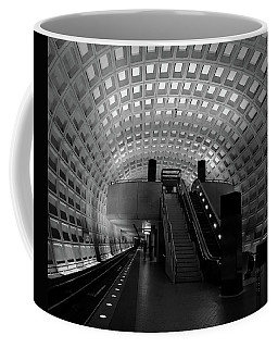 Coffee Mug featuring the photograph Gallery Place by Lora J Wilson