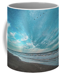 Galveston Island First Light Coffee Mug