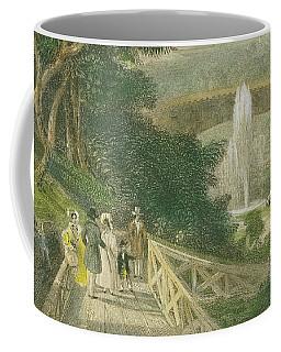 Garden At Fairmount Coffee Mug