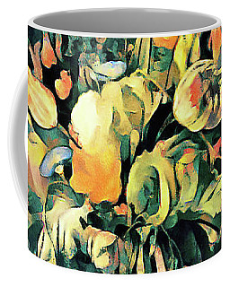 Coffee Mug featuring the painting Garden Bounty by Susan Maxwell Schmidt