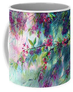 Garlands Full Of Flowers Coffee Mug