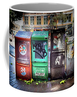 Gastown Street Newsstand Coffee Mug