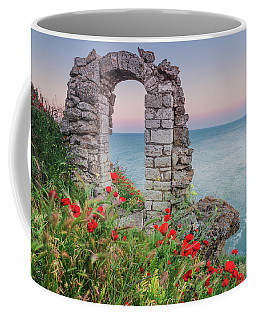 Gate In The Poppies Coffee Mug