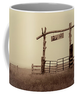 Gate In The Wilderness Coffee Mug