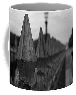 Gate, Person Coffee Mug