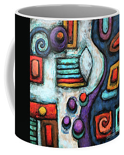 Geometric Abstract 5 Coffee Mug